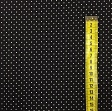 Cotton fabric Petit dots lime