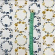 Cotton fabric Bagatelle circles amarillo digital print