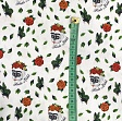 Cotton fabric FRIDA Art rose digital print