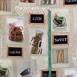 Decoration fabric Cuisine digital print