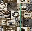 Decoration fabric West coast digital print