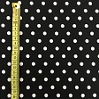 Cotton fabric Dots green