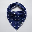 Cotton fabric Petit stars kobalt