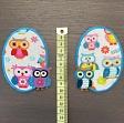 Sticker BASIC Owls 2 pc PATCH