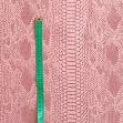 Faux leather COBRA rose