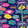 Jersey Stickers xoxo digital print